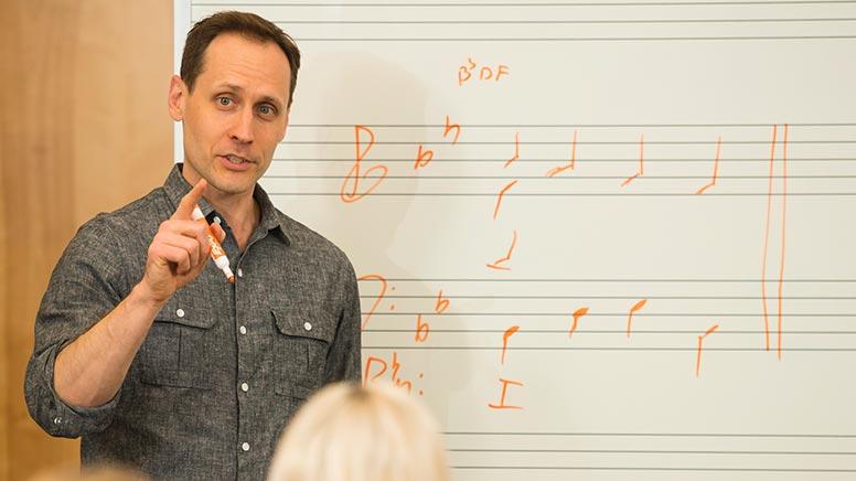 Cecil College Professor of Performing Arts J. Andrew Dickenson