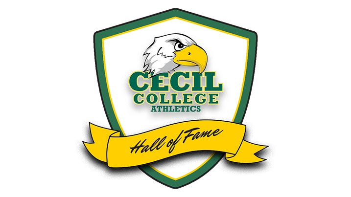 College mascot logo with seahawk