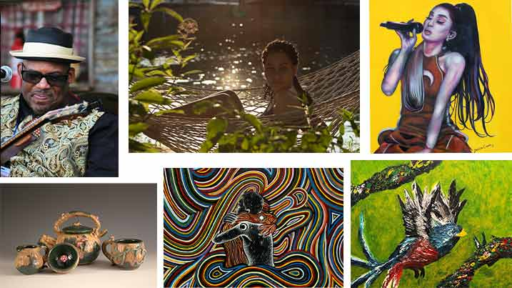Compilation of images from Capstone Project students.