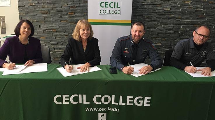 Strategic Degree Partnership signing