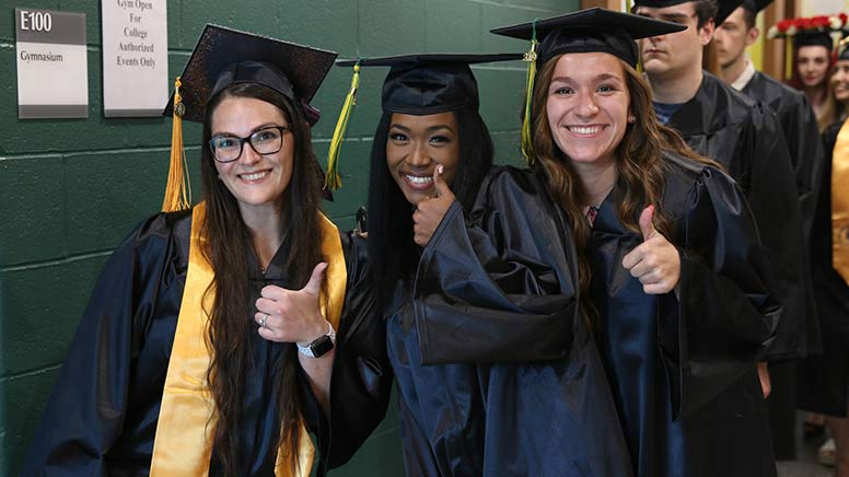 Image from 2019 May Commencement Ceremony