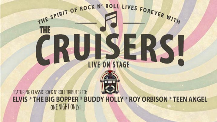 Cruisers Artwork for their concert