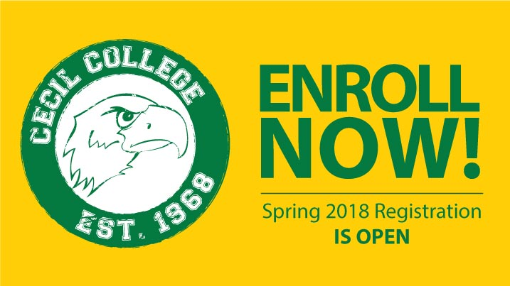 Cecil College logo - Info Night!  For prospective students