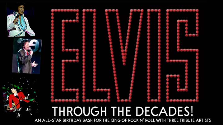 Elvis through the decades