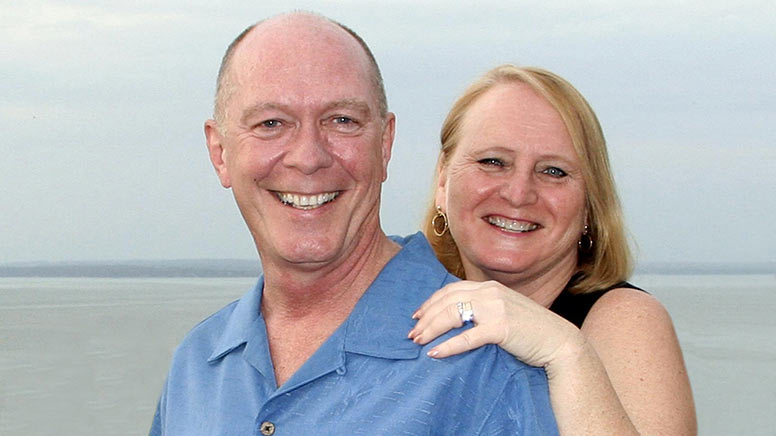 This is a photo of Kent Methven and his wife Denise