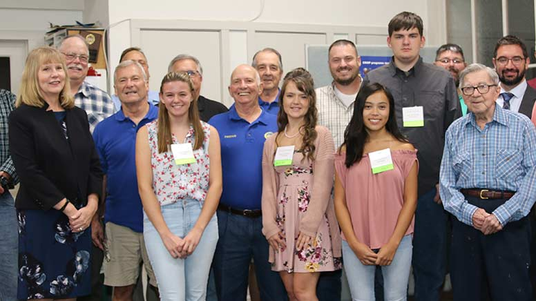 Upper Bay Ruritan Club scholarships recipients
