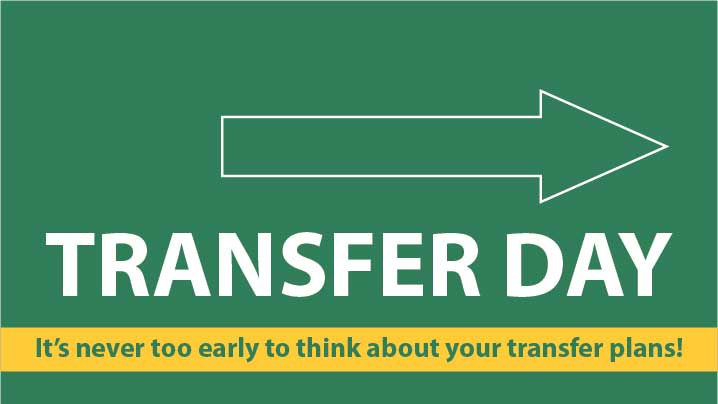 transfer day signage