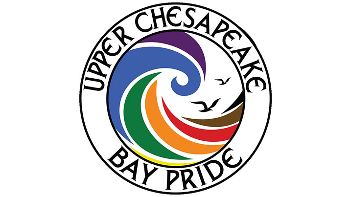 Showing the logo for the Upper Chesapeake Bay Pride