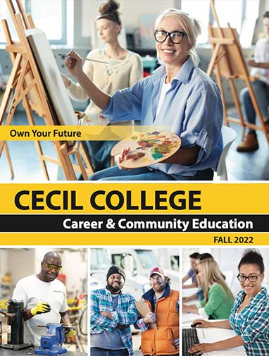 Career & Community Educaton course schedule cover