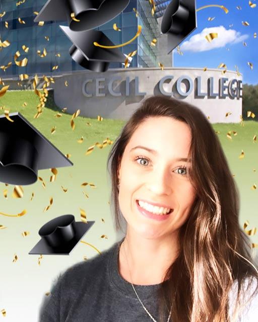 Graduation Cap filter.